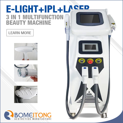 3 in 1 elight hair removal machine with nd yag laser BM11