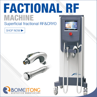Fractional rf radio frequency skin tightening machine MR16-4S
