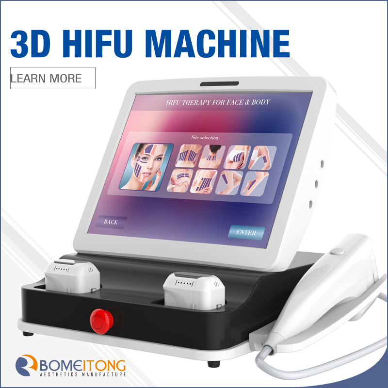 hifu home portable newest high intensity focused ultrasound body contouring machine