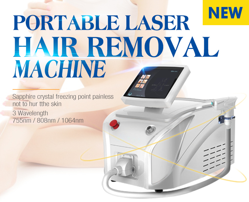 portable laser hair removal machine