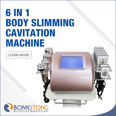 Portable Body Slimming Skin Lifting Professional Rf And Cavitation Devices