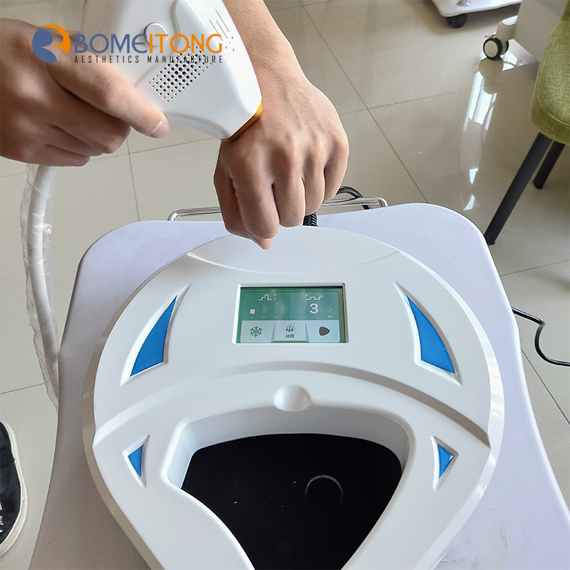 Mini Style 808nm Portable Diode Laser Hair Removal Machine for Home