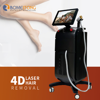 High Efficiency Micro Channel Permanent Laser Hair Removal 3 Wavelength 755 808 1064nm Diode Laser Machine BM103