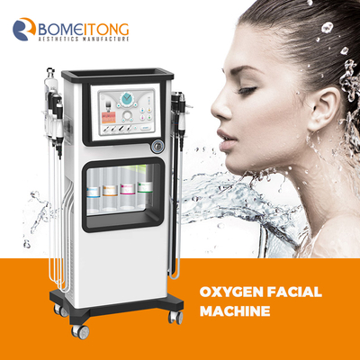 Oxygenation co2 bubble facial machine aqua peel anti aging pigment removal ance treatment skin tightening smooth delicate