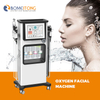 h2o and oxygen beauty machine bubble Anti-Puffiness pigment ance wrinkle removal jet peel skin care professional