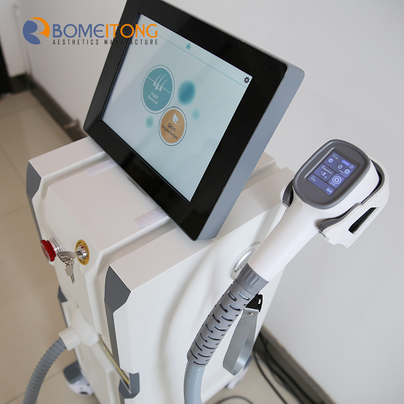 Best laser hair removal clinic beauty machine skin rejuvenation painless