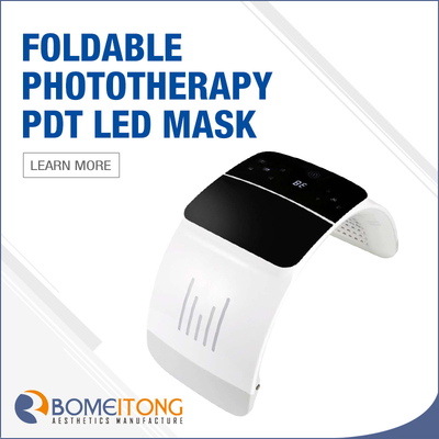 Led Light Therapy Acne Treatment Face And Neck Mask Anti Aging Machine