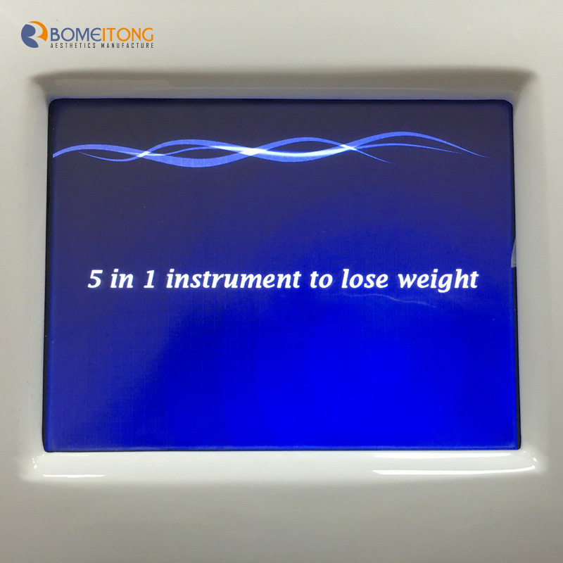 Machine to reduce fat cavitation rf slimming machine for salon use