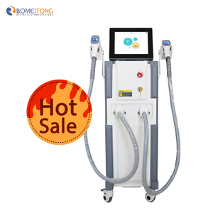 Laser hair removal areas facial body machine skin rejuvenation