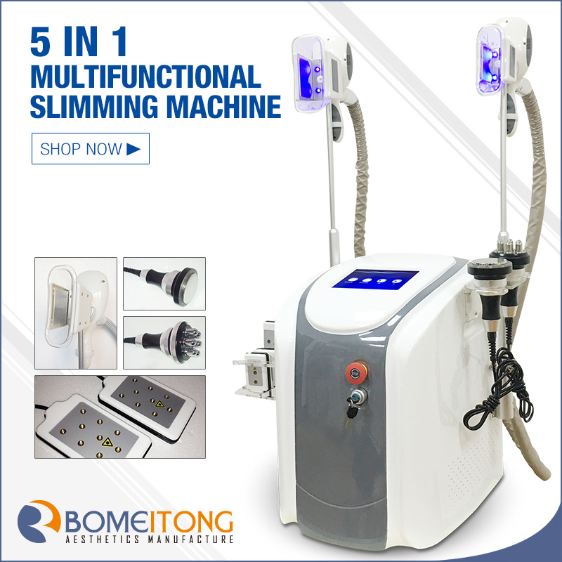 Laser fat cell removal cryolipolysis machine cavitation rf lipo laser
