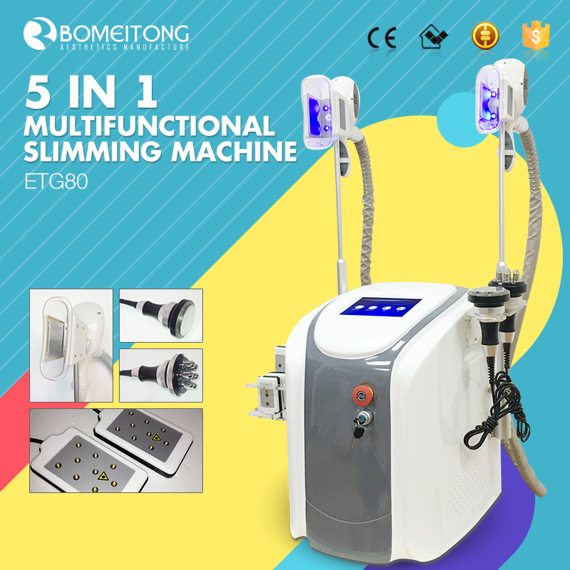 Laser freeze fat removal machine cryolipolysis cavitation rf body slimming