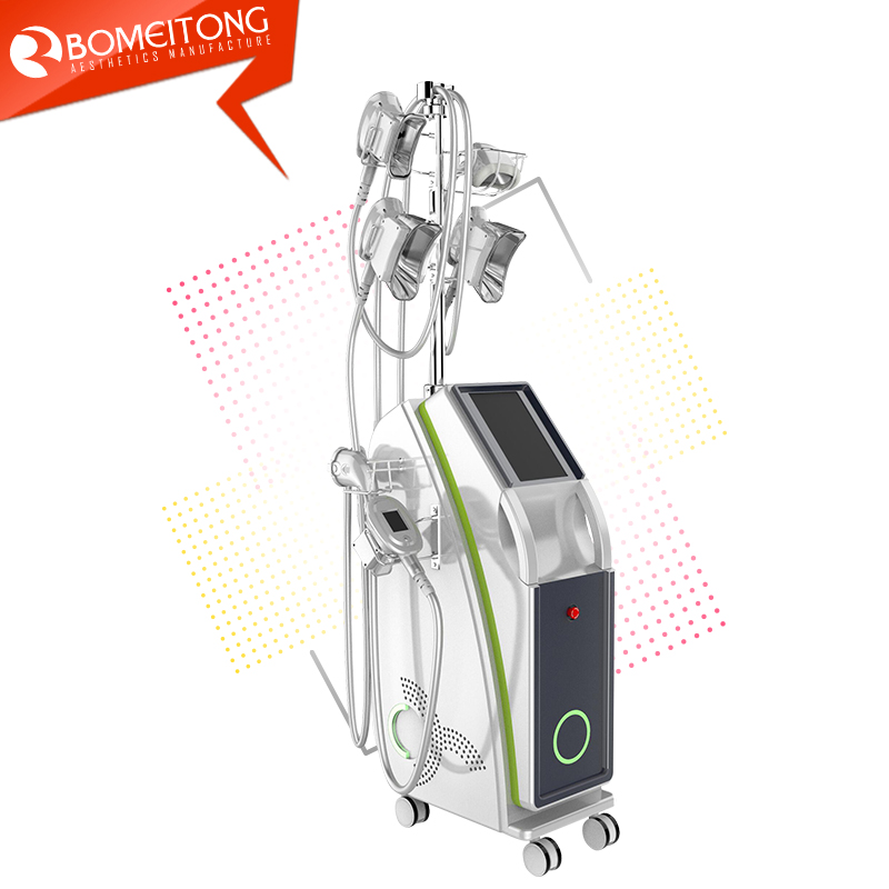 Cryolipolysis for double chin removal machine 5 handles weight loss