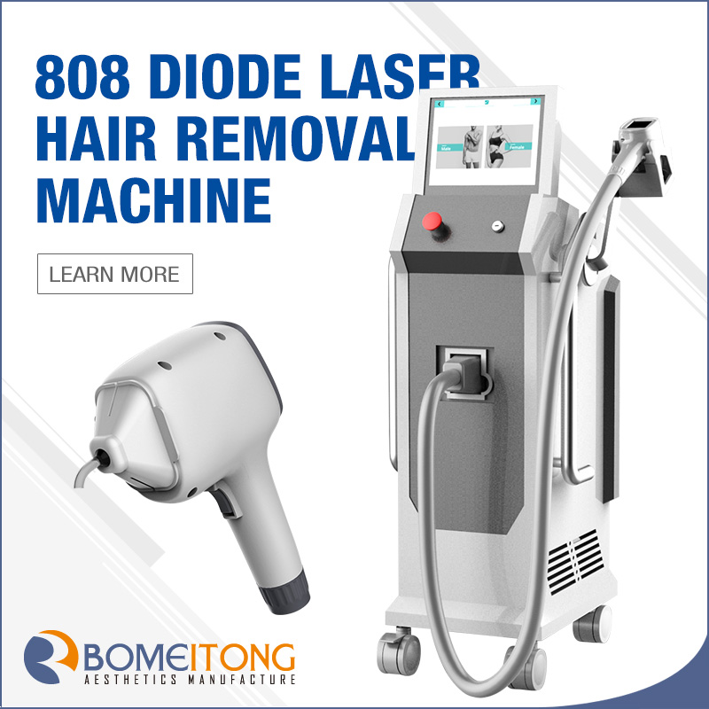 Big Laser Hair Removal Machine with 755nm 808nm 1064nm