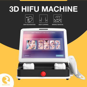 home 3d hifu face lift machine body slimming