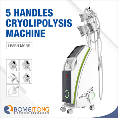new product cryo slim machine with 5 cryo handles price