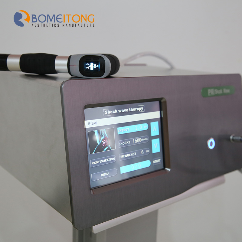 shockwave pain relief physical therapy machine