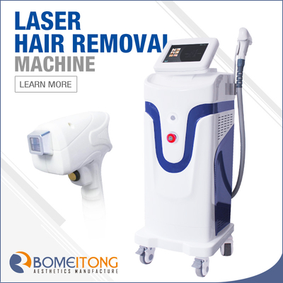1064 755 808 3 Waves Diode Laser Hair Removal Machine 2019