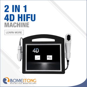 4d Hifu Wrinkle Removal Radar Line Carve 2 in 1 Face Lifting Machine HIF3-4S