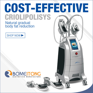 Medical 4 Handles Cryolipolysis Machine for Fat Reducing