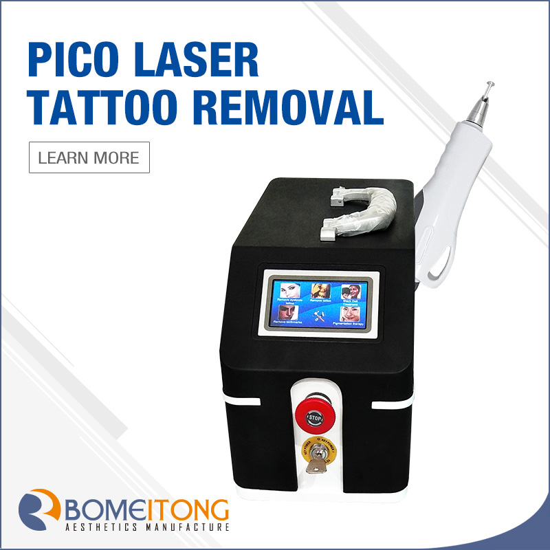 Permanent tattoo removal pico laser machine cost BM20